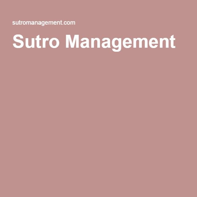 Sutro Management