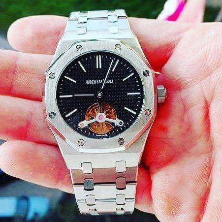 #audemar #audemars #audemarspiguet #audemarspiguetwatch #audemarspiguetwatches #watch #watches #tourbillon #ap_royal_oak_offshore_jumbo_tourbillon by orologi__di__lusso