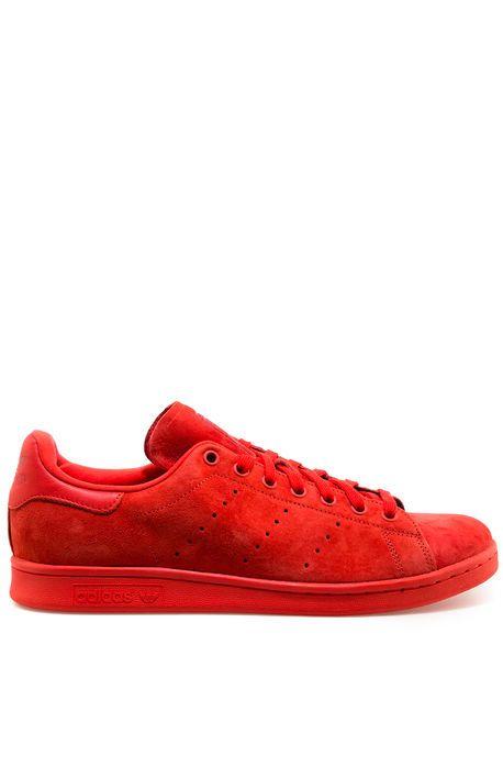 adidas Sneaker Stan Smith Red - Karmaloop.com