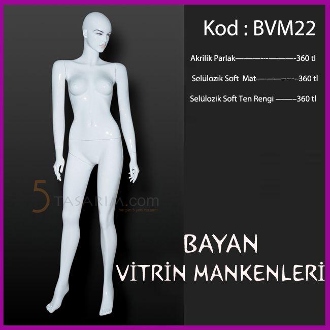 bayan vitrin mankenleri BVM22