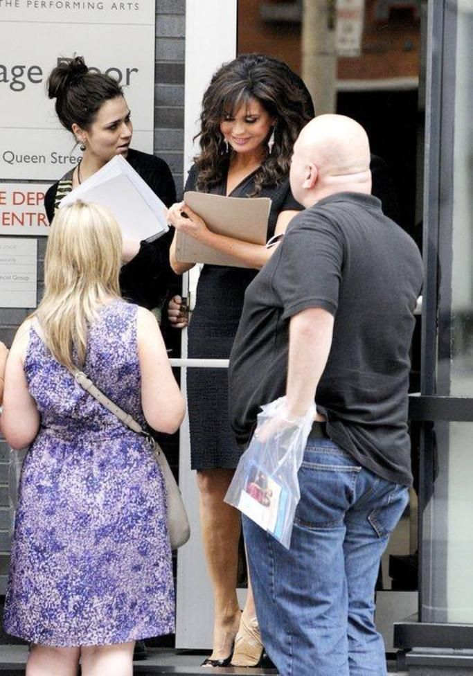 Marie Osmond - Greets fans as she leaves the Four Seasons Centre for Performance Arts after her 'Donny & Marie' show. Toronto, Canada - 10.7.11.