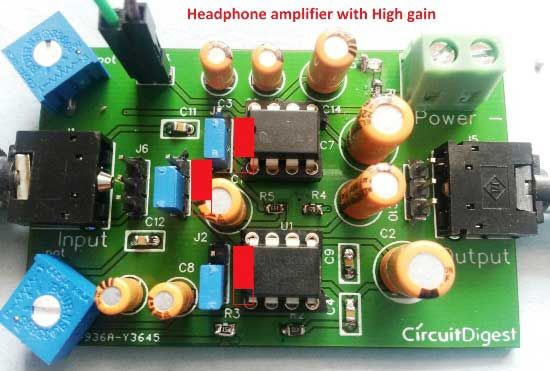 20w Audio Amplifier Using Lm1875 Electronic Circuits And Diagram
