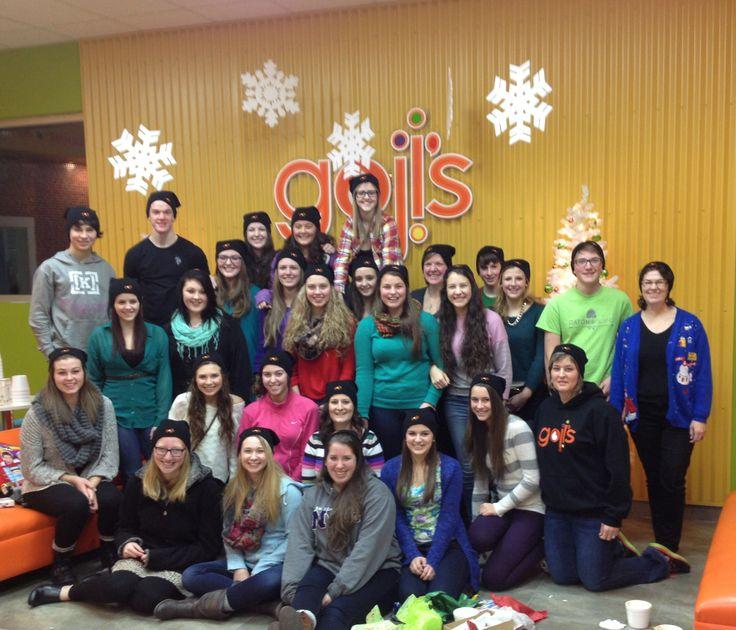 gojis employee Christmas party