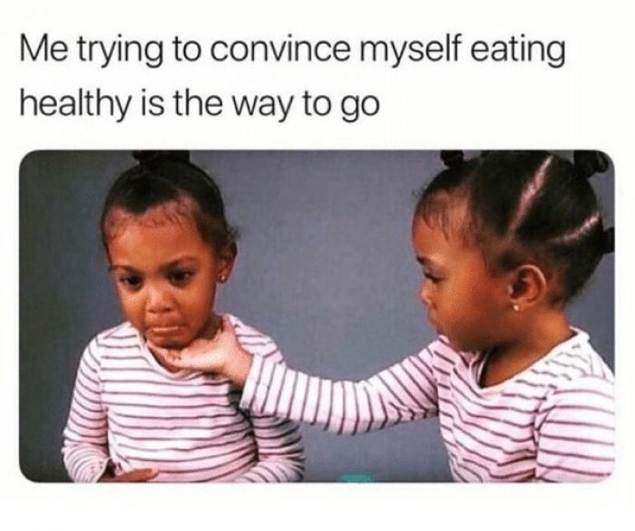 20 Funny Life Changing Eating Healthy Memes | SayingImages.com | Healthy  meme, Diet meme, Diet motivation funny