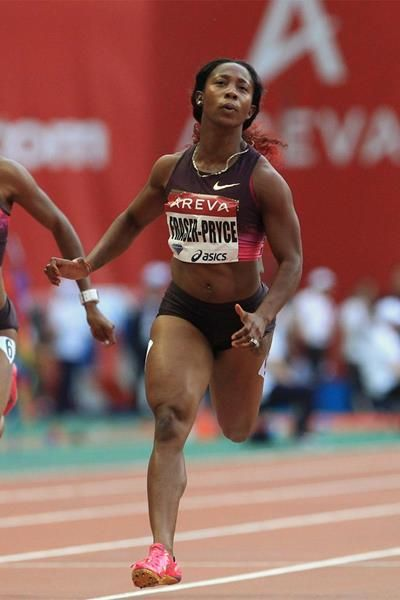 Shelly-Ann Fraser-Pryce claims victory at the IAAF Diamond League meeting in Paris (Jean-Pierre Durand)