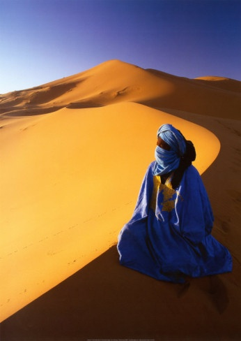 Morocco (picture of Erg Chebbi dunes of the Sahara)