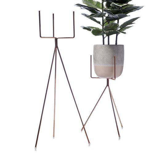 Home Republic Tex Plant Stand Copper, plant holder, pot stand