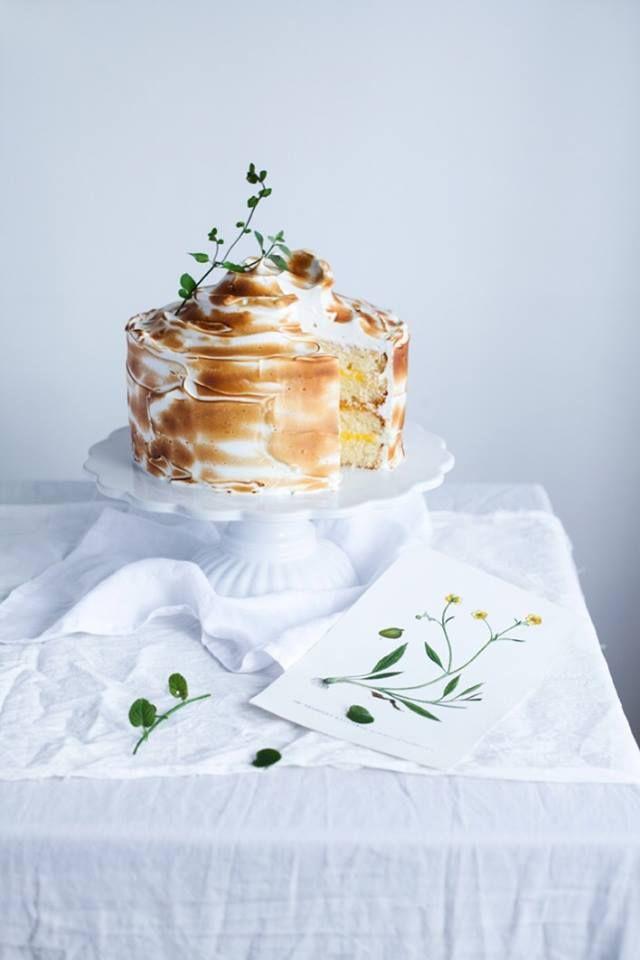 lemon meringue cake | callmecupcake.se