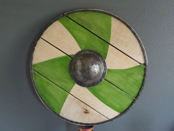 Norse Saxon Germanic Shield c6001100 AD by PaulSiebenthal on Etsy, $500.00