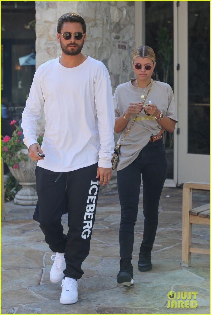 Scott Disick & Sofia Richie Step Out for Lunch Date