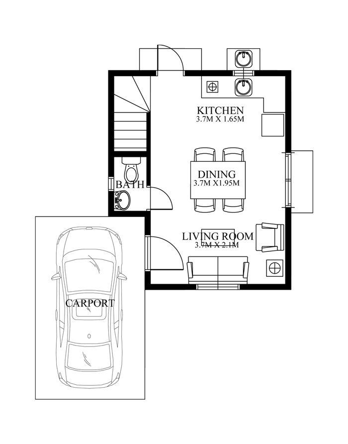 Modern House Design Series Phd 2015019 Pinoy House Designs Modern House Design House Design Modern House