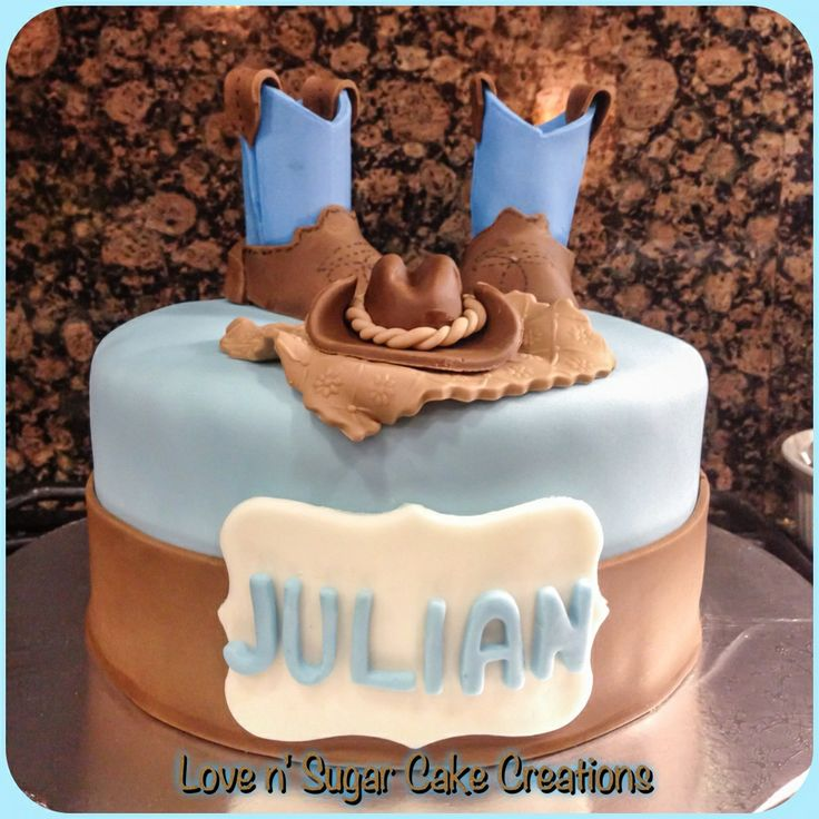Cowgirl Baby Shower Cakes: 17 Best Images About Love N Sugar Cake Creations On
