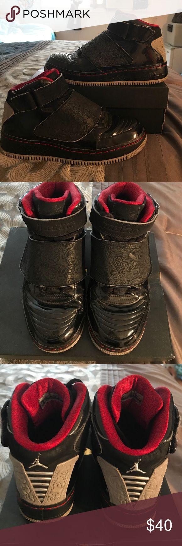 AJF 20 Best Of Both Worlds!! NIKE AIR JORDAN AJF AF1 20 Kids Youth GS 331951-001 Size 4.5 NO BOX!! Jordan Shoes Sneakers
