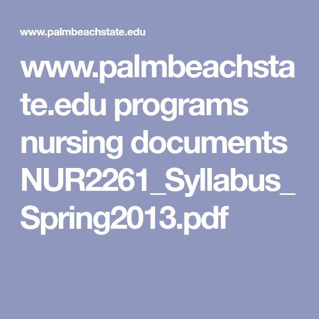 diploma in nursing syllabus pdf
