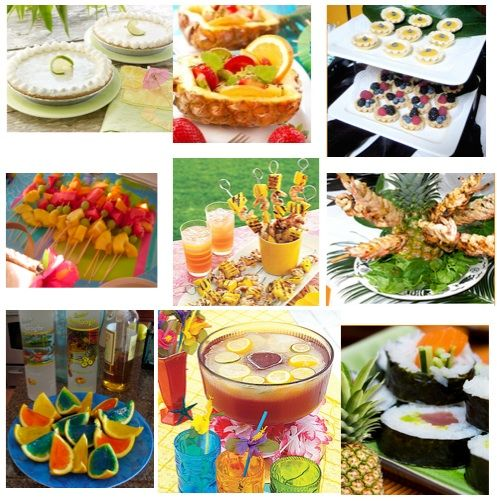 I Like The Ideas Of Skewers For Appies And Pineapple Dishes Salad