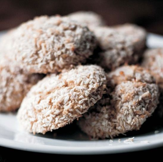 рецепт Печенье из ячменной муки с кокосовой стружкой
