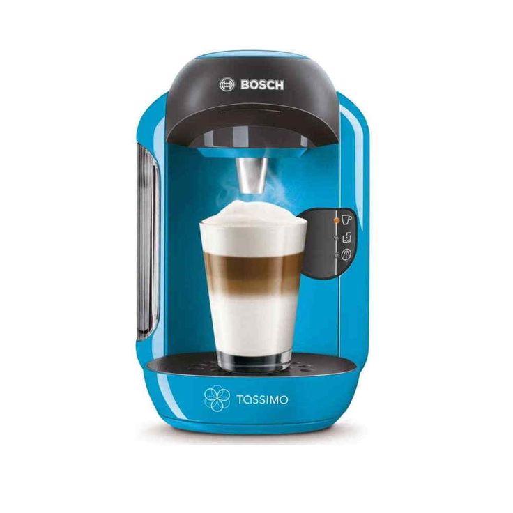 New Bosch Tassimo VIVY TAS1255GB 1300W Multi Drinks Coffee Machine Blue #Bosch