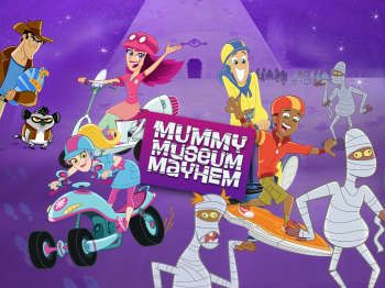 Fresh Beat Band of Spies Mummy Museum Mayhem!