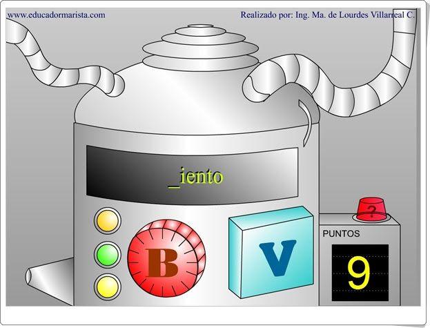 "La máquina de la ""b"" y la ""v"""