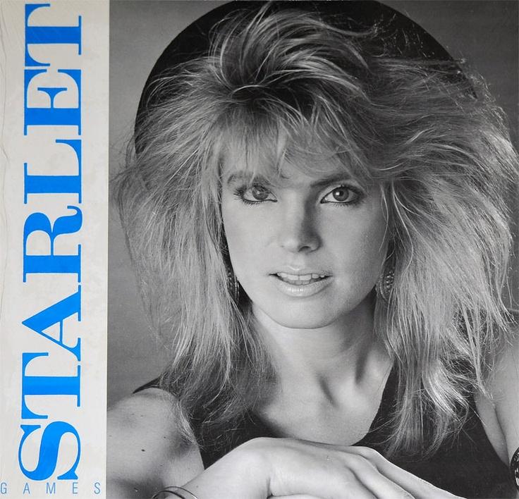 Starlet. American synth pop Hi NRG singer. Pop singers