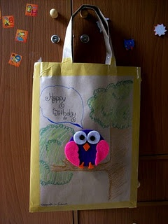 Birthday goddie bag