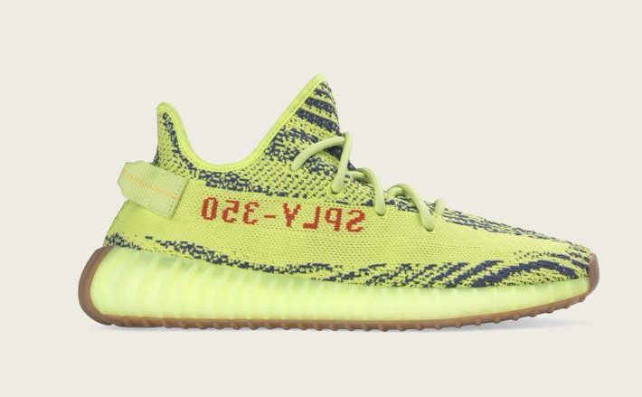 Official Images Of The adidas Yeezy Boost 350 V2 Semi Frozen Yellow