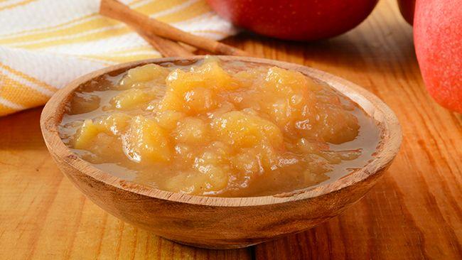 No Sugar, Sugar Free Homemade Applesauce for bariatric and diabetic eating