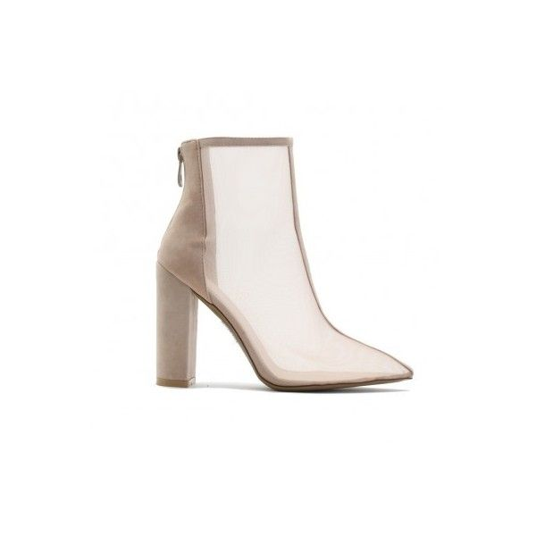 Ankle Boots (£40) ❤ liked on Polyvore featuring shoes, boots, ankle booties, ankle bootie boots, short ankle boots, ankle boots, short booties and short boots