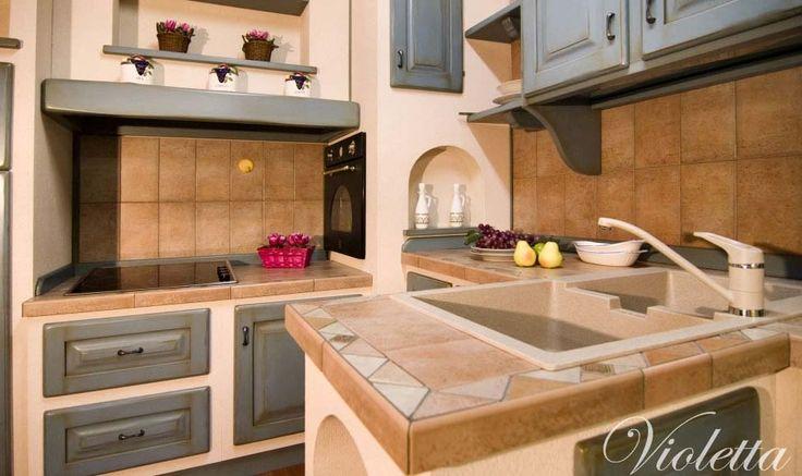 Cucina Artigianale fatta su misura in Sardegna Violetta : Mobilificio Orru