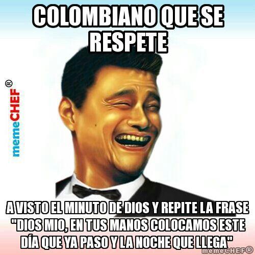 Colombiano que se respete