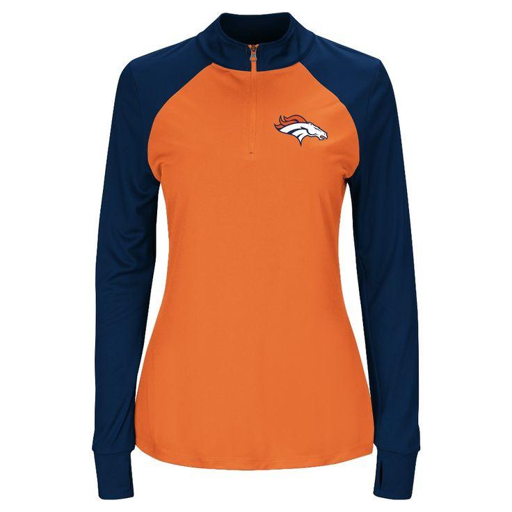 Sweatshirts Denver Broncos Team Color Xxl, Women's, Gray Multicolored