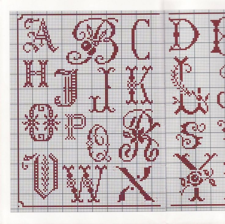 381 Best Needlepoint Monograms & Charts Images On