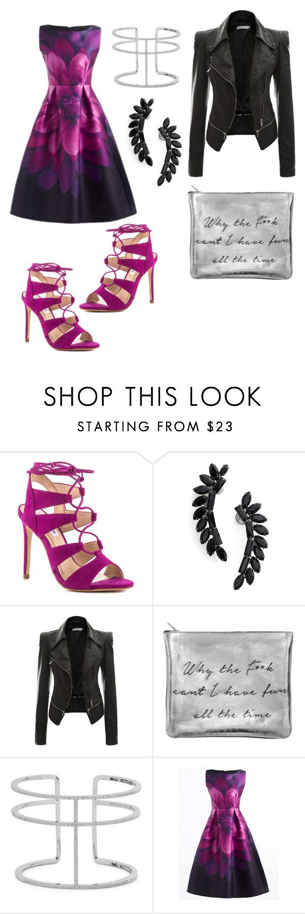 """Rock star!"" by dianavillalobos on Polyvore featuring Steve Madden, Cristabelle and APM Monaco"
