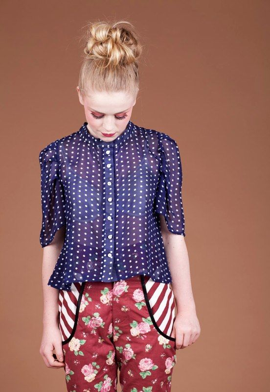 JennieLoofLookbook Tove Blouse from Lovely collection 2012