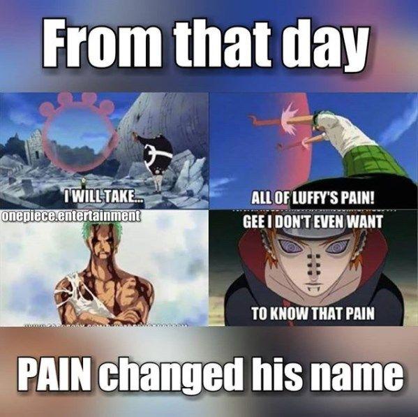 Roronoa Zoro Funny Memes One Piece Memes Naruto Memes With