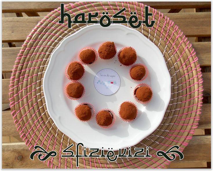 Sfizi & Vizi: Haroset - Moroccan truffles with dates, almonds an...