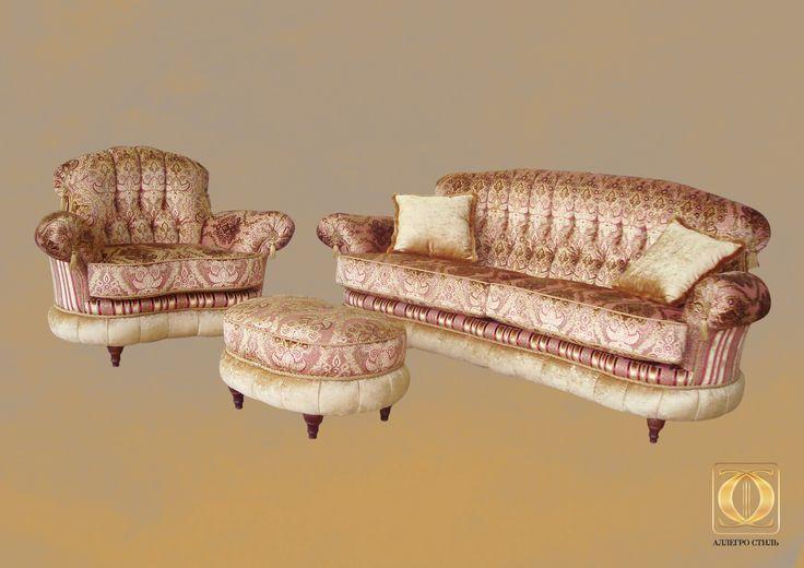 Коллекция итальянской мебели Палаццо от Аллегро-Стиль: комплект Медичи мод.1