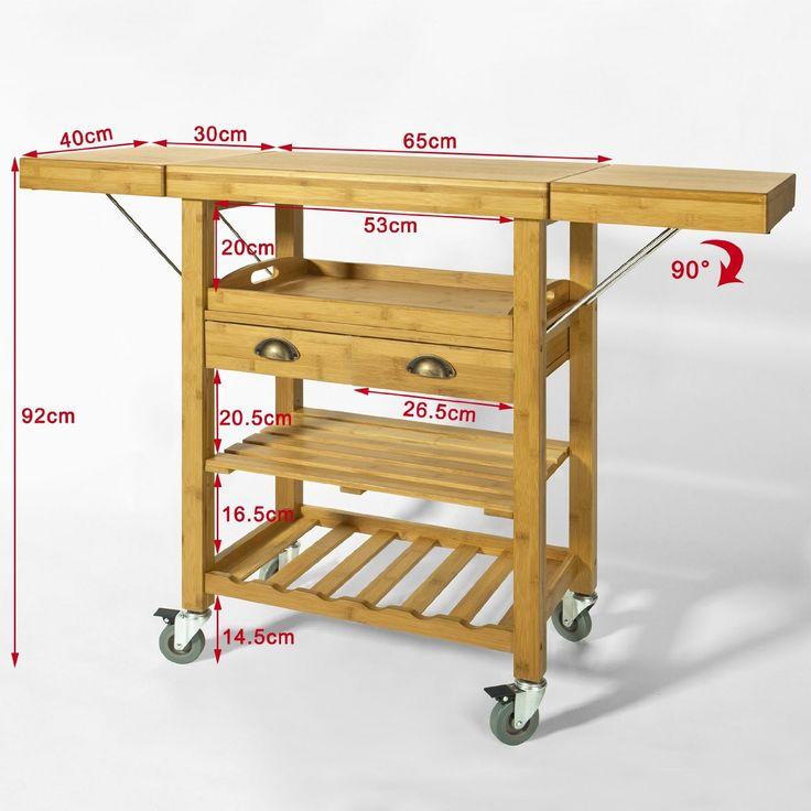 17 mejores ideas sobre carritos de cocina en pinterest for Carritos auxiliares de cocina