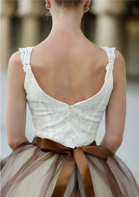 pretty back: Fashion, Tutu, Style, Dresses, Wedding Dress, Bow