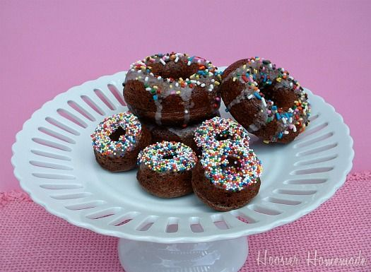 Chocolate Doughnuts .  These look fantastic!