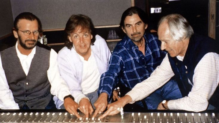 """Record producer Sir George Martin, known as the """"fifth Beatle"""", has died at the age of 90."""