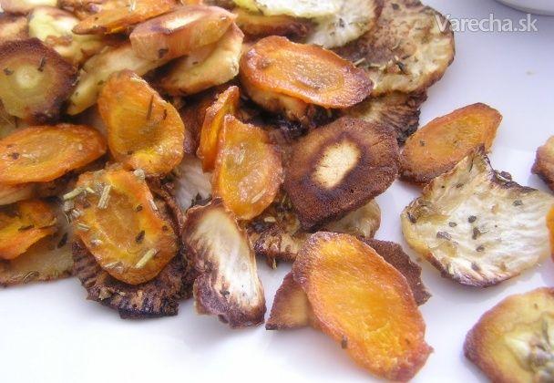 Zeleninové chipsy (fotorecept)