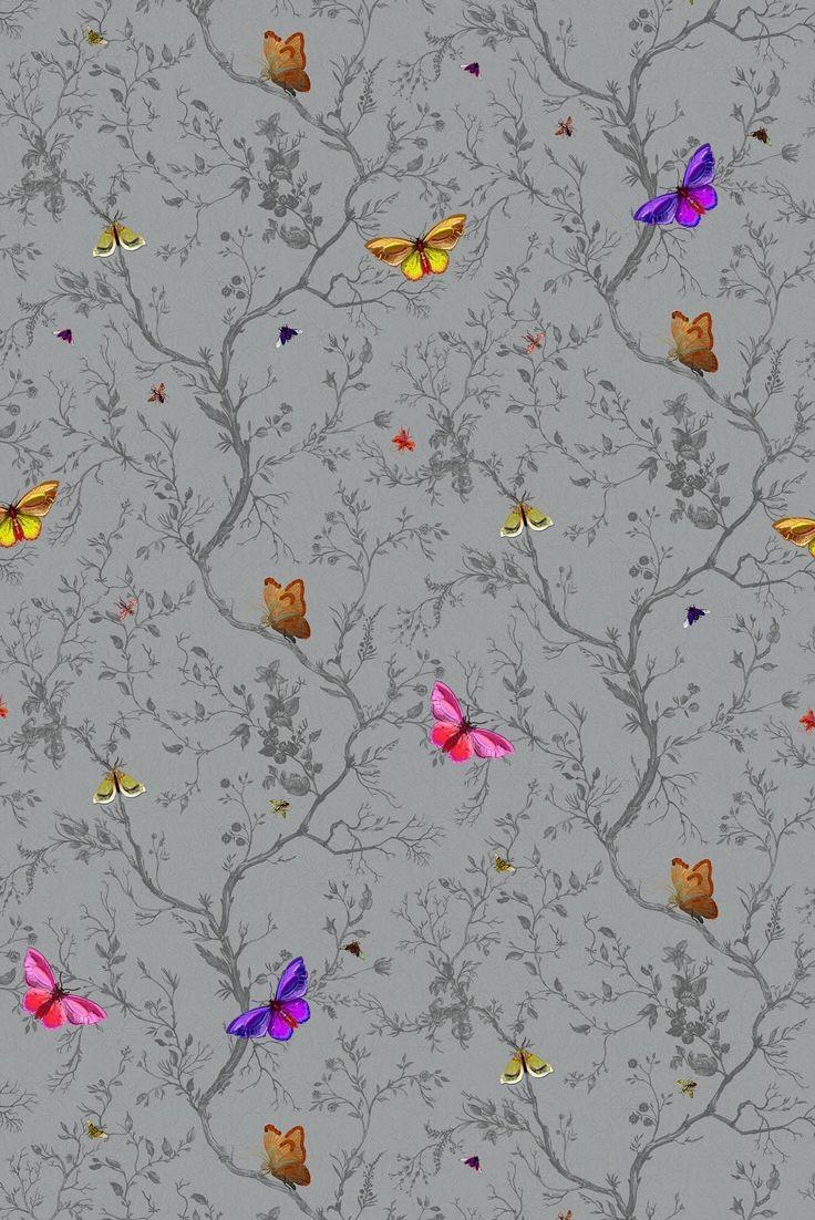 Timorous Beasties Wallcoverings - Butterflies