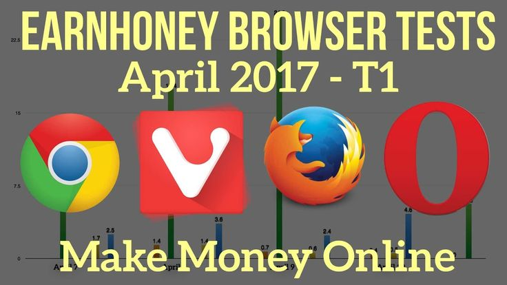 Best Web Browser with Earnhoney for Making Money? Make Money Watching Videos: Test 1 - WATCH VIDEO here -> http://makeextramoneyonline.org/best-web-browser-with-earnhoney-for-making-money-make-money-watching-videos-test-1/ -    how do you make money making videos youtube  What web browser makes you the most money with Earnhoney? Does it even make a difference? I decided to do some earning tests for the past few days and this is what I found. Earning Tracking PDF: Sign up with