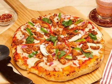 Bihari Kabab Pizza Recipe Recipe Link: https://www.zaiqa.com/recipe/35056/bihari-kabab-pizza-recipe