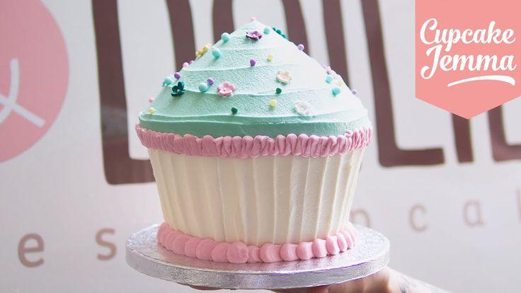 Giant Cupcake Masterclass How-To | Cupcake Jemma