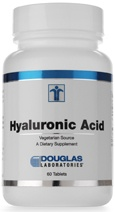 "Hyaluronic Acid  Very effective when taken with Collagen. Highest concentrations in the eyes and joints. For joint disorders, osteoarthritis, used as lip filler in plastic surgeries. Used on skin for healing wounds, burns, skin ulcers, and as a moisturizer.To prevent the effects of aging - ""fountain of youth""  works by acting as a cushion and lubricant in the joints and other tissues."