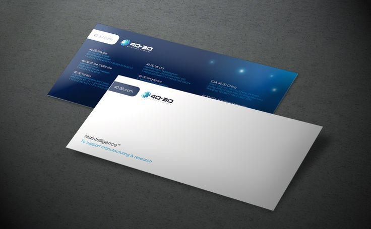 Création graphique de cartes de correspondances suivant la charte graphique #identity #print #design