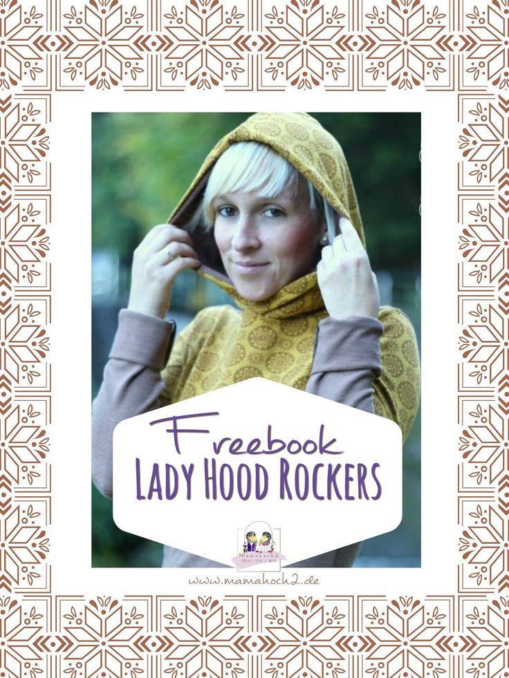 """Freebook """"LadyHood Rockers"""" Damenhoodie"""