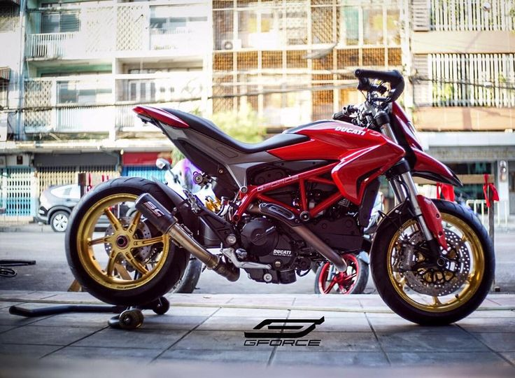 "495 Likes, 10 Comments - G-FORCE Thailand (@gforcethailand) on Instagram: ""Ducati Hypermotard 821 @ G-FORCE #aftermarket #gforcethailand #thailand #motorcycles #motounite…"""